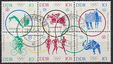 Buy GERMANY DDR [1964] MiNr 1039-44 6er ( OO/used ) Olympiade