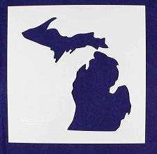 """Buy State of Michigan Stencil-Mylar 14 Mil -12"""" X 12"""" - Painting /Crafts/ Templates"""