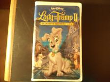 Buy Lady and the Tramp II: Scamps Adventure (VHS, 2001)