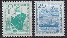Buy GERMANY DDR [1958] MiNr 0663-64 ( **/mnh ) Schiffe