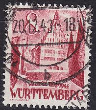 Buy GERMANY Alliiert Franz. Zone [Württemberg] MiNr 0032 y I ( O/used ) [03]