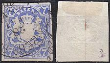 Buy GERMANY Bayern Bavaria [1867] MiNr 0021 a ( O/used ) [01]