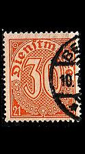 Buy GERMANY REICH Dienst [1920] MiNr 0020 ( O/used )