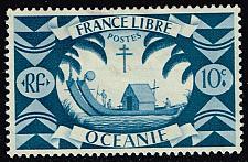 Buy French Polynesia #137 Ancient Double Canoe; Unused (0.40) (2Stars) |FRP0137-02