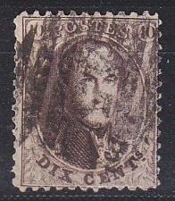 Buy BELGIEN BELGIUM [1863] MiNr 0011 A ( O/used )
