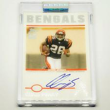 Buy NFL CHRIS PERRY CINCINNATI BENGALS AUTOGRAPHED 2004 TOPPS SIGNATURE RC /999 MINT