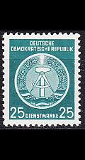 Buy GERMANY DDR [Dienst A] MiNr 0010 I ( **/mnh )