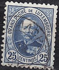 Buy LUXEMBURG LUXEMBOURG [1891] MiNr 0060 C ( O/used )