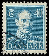 Buy Denmark #286 King Christian X; Used (4Stars) |DEN0286-03XRS
