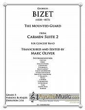 Buy Bizet - Mounted Guard from Carmen