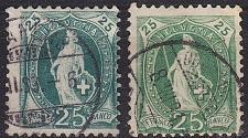 Buy SCHWEIZ SWITZERLAND [1882] MiNr 0059 X A ( O/used ) [01] 2 Farben