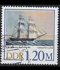 Buy GERMANY DDR [1988] MiNr 3201 ( OO/used ) Schiffe