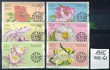 Buy PANAMA [1966] MiNr 0856-61 ( O/used ) Blumen