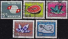Buy SCHWEIZ SWITZERLAND [1959] MiNr 0674-77 ( O/used ) Pro Patria