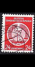 Buy GERMANY DDR [Dienst A] MiNr 0009 I ( OO/used )