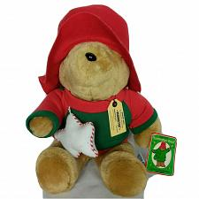 "Buy NWT VTG Sears Paddington Teddy Bear 1995 Christmas Plush Stuffed Animal 16.5"""