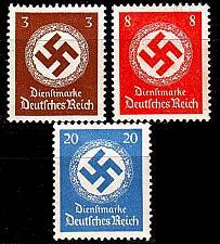 Buy GERMANY REICH Dienst [1942] MiNr 0166 ex ( **/mnh ) [03]