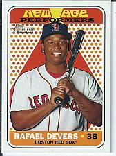 Buy Rafael Devers 2018 Topps Heritage New Age Performers