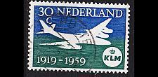 Buy NIEDERLANDE NETHERLANDS [1959] MiNr 0738 ( O/used ) Flugzeug