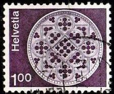 Buy SCHWEIZ SWITZERLAND [1974] MiNr 1035 w ( O/used ) Architektur