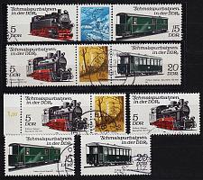 Buy GERMANY DDR [1981] MiNr 2629-32 ex ( OO/used ) [02] Eisenbahn div Zdr