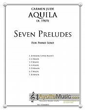 Buy Aquila - Seven Preludes for Piano