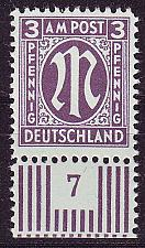 Buy GERMANY Alliiert AmBri [1945] MiNr 0017 a D ( **/mnh )
