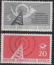 Buy GERMANY DDR [1958] MiNr 0620-21 ( **/mnh ) Post