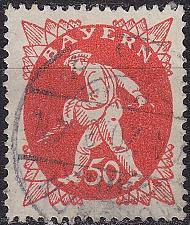 Buy GERMANY Bayern Bavaria [1920] MiNr 0184 ( O/used )