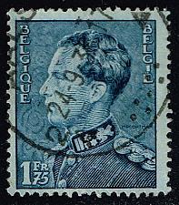 Buy Belgium #295 King Leopold III; Used (0.25) (2Stars) |BEL0295-04XRS