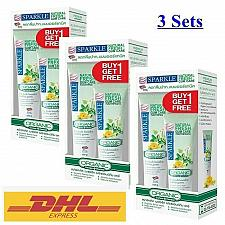 Buy 3x SPARKLE NATURAL FRESH GUM CARE TOOTHPASTE ORGANIC HERB 100G.+FREE 50G IN SET