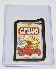 Buy VINTAGE 1986 Topps Wacky Packages KAL KORPSE GRAVE #62 NMNT