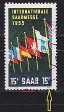 Buy GERMANY Saar [1955] MiNr 0359 PF III ( O/used ) Plattenfehler