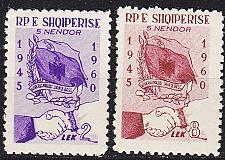 Buy ALBANIEN ALBANIA [1961] MiNr 0619-20 ( */mh )