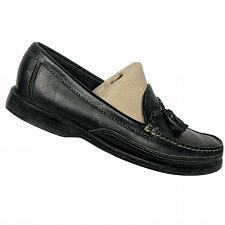 Buy Sebago Mens Black Leather Tasseled Slip On Moc Toe Casual Loafers Size 8.5 M