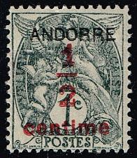 Buy Andorra-French #P1 Newspaper Stamp; Unused (1.25) (3Stars) |ANFP1-01XRS