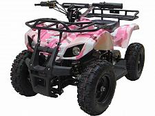 Buy Kids Pink Four Wheeler Outdoor Ride On 24V Electric Battery Mini ATV Quad Sonora