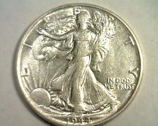 Buy 1944 WALKING LIBERTY HALF ABOUT UNCIRCULATED AU NICE ORIGINAL COIN BOBS COINS