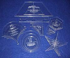 Buy Quilt Templates Holiday 21 Piece Gift Set- 1/8-laser Cut