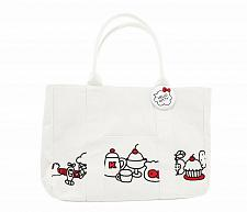 Buy New Hello Kitty Tote Bag Touch Our Heart Sanrio Free Shipping