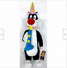 """Buy NWT Looney Tunes Sylvester Party New Years Plush Stuffed Animal 19"""""""