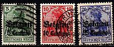 Buy GERMANY REICH Besetzung [Belgien] MiNr 0001 ex ( O/used ) [01]