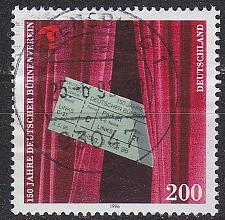 Buy GERMANY BUND [1996] MiNr 1857 ( O/used )