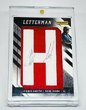 Buy MLB CHRIS SMITH AUTOGRAPHED 2008 RZR LETTERMEN PATCH RELIC MINT