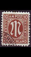 Buy GERMANY Alliiert AmBri [1945] MiNr 0022 A ( O/used )