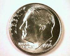 Buy 1996-W ROOSEVELT DIME SUPERB UNCIRCULATED SUPERB UNC. NICE ORIGINAL COIN