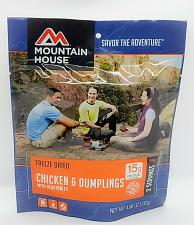 Buy Mountain House Freeze Dried Food Pouches Camp Trail MRE Chicken & Dumplings