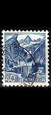 Buy SCHWEIZ SWITZERLAND [1948] MiNr 0505 ( O/used ) Landschaft