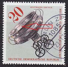 Buy GERMANY DDR [1976] MiNr 2183 I ( O/used ) [01] Plattenfehler