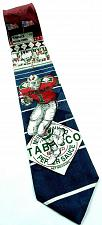 Buy Tabasco Hot Sauce Football Player Sports Novelty 100% Silk Tie